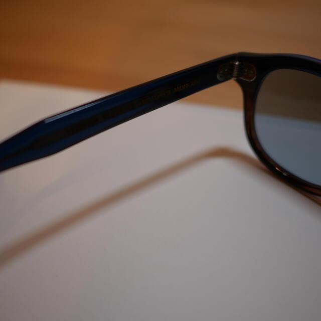 BEAMS(ビームス)の稀少 限定BEAMSPLUS別注 モスコット レムトッシュ ガラスレンズ メンズのファッション小物(サングラス/メガネ)の商品写真