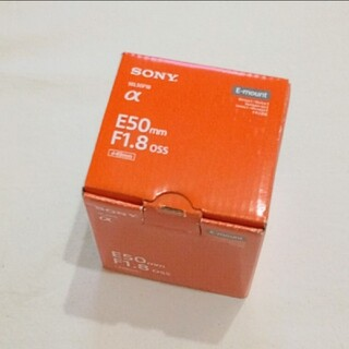 SONY - 【新品未開封】SEL50F18 ソニー E 50mm F1.8 OSS
