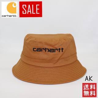カーハート(carhartt)のCarhartt スクリプトコットンバケットハット バケハ(ハット)
