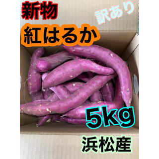 数量限定SALE  #3【訳あり】5kg 紅はるか べにはるか 静岡産(野菜)