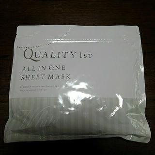 QUALITY FIRST - クオリティファースト オールインワンシートマスク ホワイト