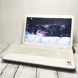 富士通 - 【初心者・子供用に】富士通ノートパソコン 【SSD+外付HDD】39