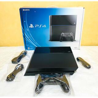 プレイステーション4(PlayStation4)のPS4 プレステ4 本体 CUH-1000A 500G すぐ遊べるセット(家庭用ゲーム機本体)