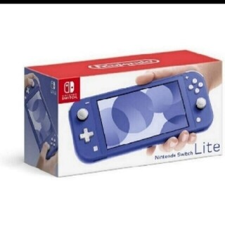 Nintendo Switch - ☆千穂☆様専用 任天堂Switchライト ブルー 未開封新品