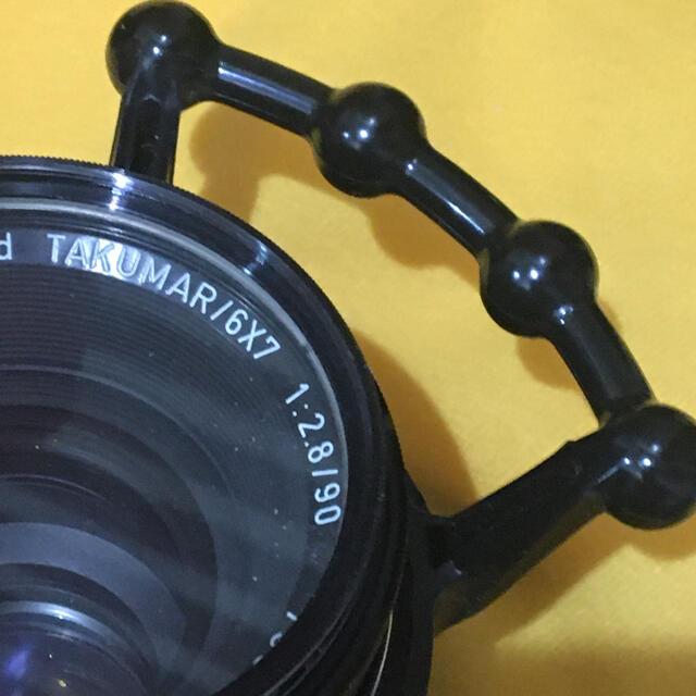 PENTAX(ペンタックス)のPENTAX 67 クイックフォーカシングリング A バケペンビンテージ スマホ/家電/カメラのカメラ(フィルムカメラ)の商品写真