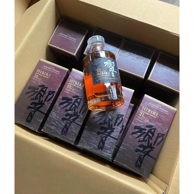 サントリー(サントリー)の響21年 12本 箱付き 食品/飲料/酒の酒(ウイスキー)の商品写真