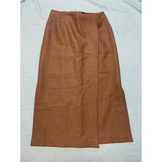 ユナイテッドアローズ(UNITED ARROWS)のユナイテッドアローズ SACRA スリットスカート(ロングスカート)