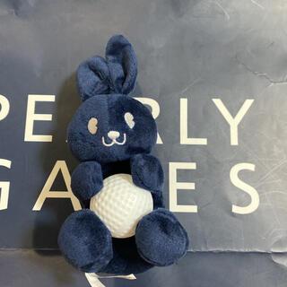 パーリーゲイツ(PEARLY GATES)の未使用⭐︎ジャックバニー ボールポーチネイビーうさぎ(ゴルフ)