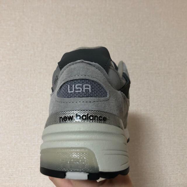New Balance(ニューバランス)のニューバランス M992GR 27cm メンズの靴/シューズ(スニーカー)の商品写真
