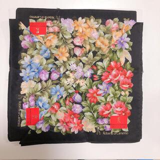 ロベルタディカメリーノ(ROBERTA DI CAMERINO)のロベルタディカメリーノ 花柄 大判ハンカチ(ハンカチ)