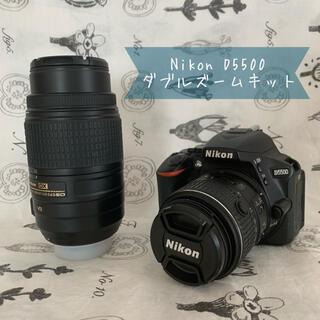 Nikon - *Nikon D5500 ダブルズームキット* シャッター数約10000
