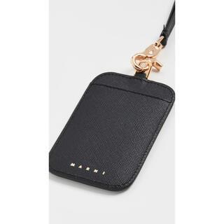 マルニ(Marni)のmarni lanyard card holder【新品未使用】カードホルダー(パスケース/IDカードホルダー)
