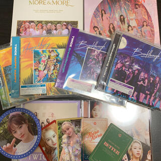 ウェストトゥワイス(Waste(twice))のTWICE CD・特典セット(K-POP/アジア)
