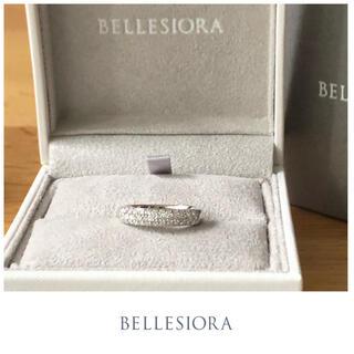 agete - BELLESIORA♡プラチナリング♡ダイヤモンド♡パヴェリング♡ベルシオラ