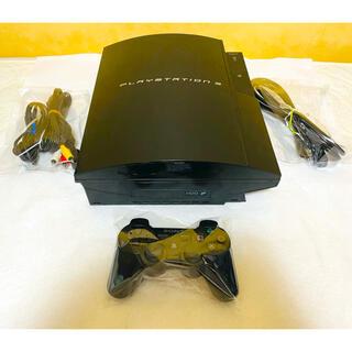 プレイステーション3(PlayStation3)のPS3 本体 初期型 CECHB00 動作良好 すぐに遊べるセット(家庭用ゲーム機本体)