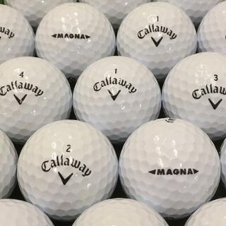 キャロウェイ(Callaway)の☆☆ロストボール SUPER SOFT MAGNA マグナ ホワイト 30球(その他)