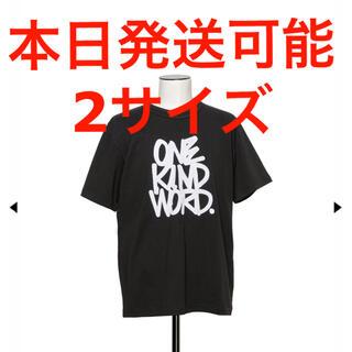 sacai - 定価(18,700) SACAI Eric Haze T-Shirt black