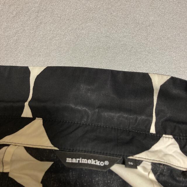 marimekko(マリメッコ)のmarimekko キベット柄 シャツワンピース レディースのワンピース(ひざ丈ワンピース)の商品写真