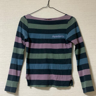HYSTERIC GLAMOUR - Hysteric glamour ボーダーTシャツ 古着 くすみ