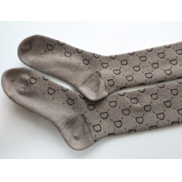 DEUXIEME CLASSE(ドゥーズィエムクラス)のjacquard socks ジャガード ソックス ベージュ レディースのレッグウェア(ソックス)の商品写真
