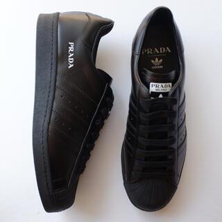 プラダ(PRADA)のprada メンズ adidas superstar ブラック 27cm(スニーカー)