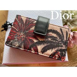ディオール(Dior)の未使用✨クルーズ✨人気完売品✨ディオール アニマル 5ガゼットカードホルダー(財布)
