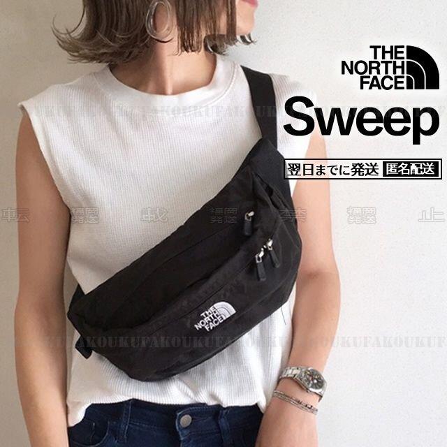 THE NORTH FACE(ザノースフェイス)のザ ノースフェイス スウィープ ブラック ウエストポーチ レディースのバッグ(ボディバッグ/ウエストポーチ)の商品写真