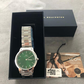 ダニエルウェリントン(Daniel Wellington)のダニエル ウェリントン 新作 ICONIC LINK EMERALD 40mm(腕時計(アナログ))