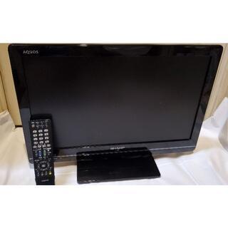 SHARP - シャープ AQUOS 22インチUSB録画機能付フルハイビジョン テレビ