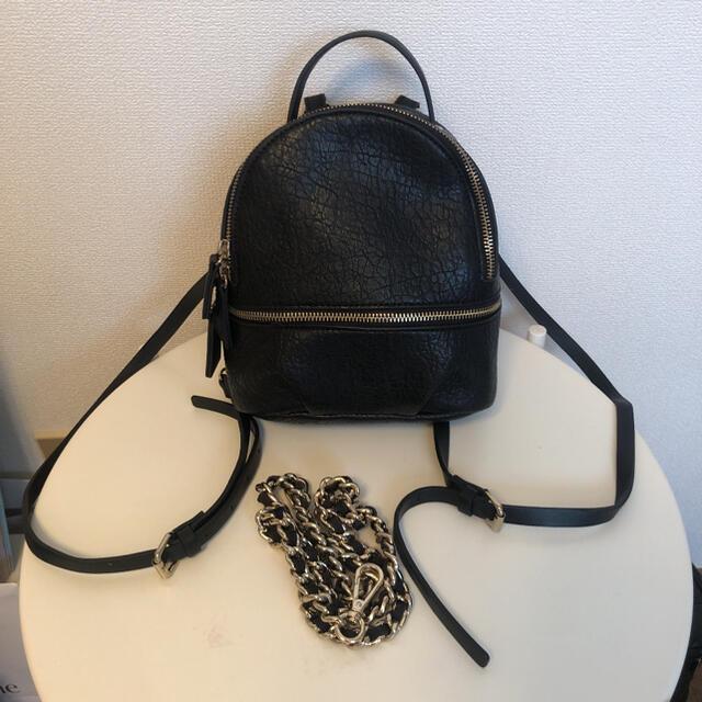ZARA(ザラ)のショルダーバック リュック ZARA レディースのバッグ(リュック/バックパック)の商品写真