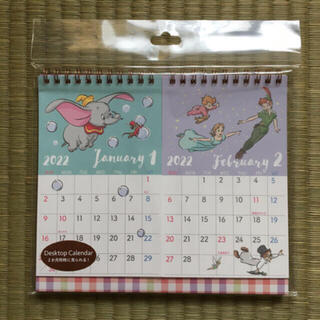 Disney - ディズニーキャラクター 卓上カレンダー 2022