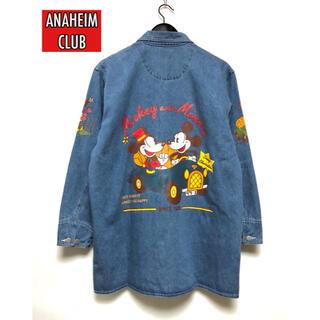 ディズニー(Disney)のANAHEIM CLUB   ミッキー&ミニー プリントカバーオール(その他)