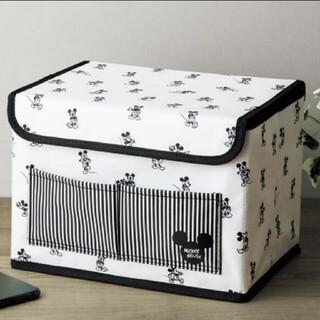 《付録》ミッキーマウスデザイン収納ボックス(小物入れ)