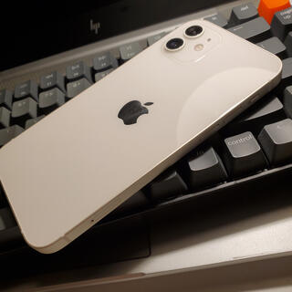 iPhone - iPhone 12 128GB SIMフリー ホワイト 極美品