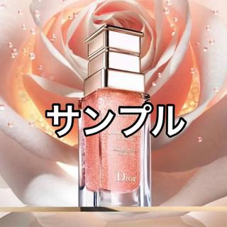 クリスチャンディオール(Christian Dior)のディオール 最高峰 プレステージ サンプルセット ユイルドローズ ゴマージュ(美容液)