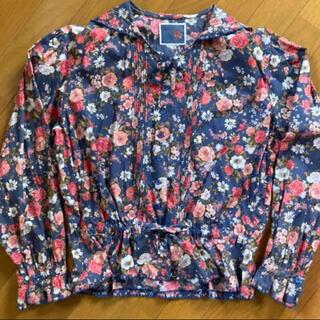PINK HOUSE - 希少 ケティ ketty ピンクハウス 花柄 ブラウス 羽織り 襟 セーラー