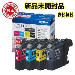 ブラザー(brother)のブラザー brother LC111-4PK インクカートリッジ4色パック(PC周辺機器)