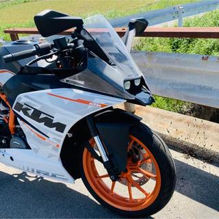 KTM RC250 実働 250で車検が無いので維持費が安い。