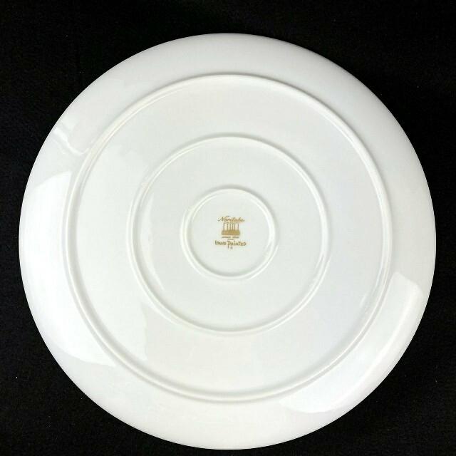 Noritake(ノリタケ)の希少 廃盤 ◆ ノリタケ ダイヤモンドコレクション ハンドペイント 飾り皿 大皿 インテリア/住まい/日用品のキッチン/食器(食器)の商品写真