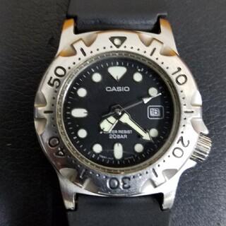 カシオ(CASIO)のカシオ カジキ 電池交換済み(腕時計(アナログ))