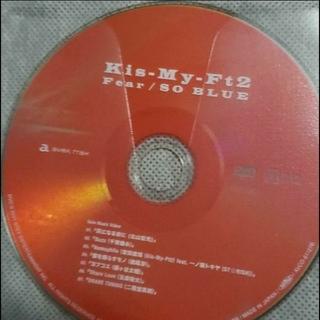 Kis-My-Ft2 - Kis-My-Ft2 Fear/SO  BLUE 初回盤A DVDのみ