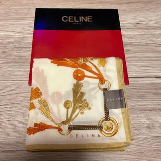 celine - セリーヌ大幅ハンカチ