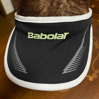 Babolat - バボラ サンバイザー 黒