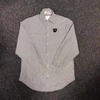 コムデギャルソン(COMME des GARCONS)のPLAY COMME des GARCONS シャツ限定版(Tシャツ/カットソー(七分/長袖))