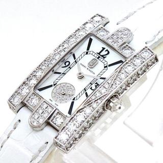 ハリーウィンストン(HARRY WINSTON)の美品 HARRY WINSTON アヴェニュー クラシック オーロラ(腕時計)