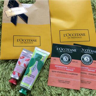 L'OCCITANE - ロクシタン♡バイカラーハンドクリーム