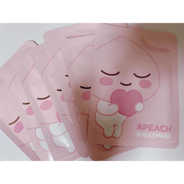 Innisfree(イニスフリー)の韓国大人気アピーチ フェイスマスク11枚 コスメ/美容のスキンケア/基礎化粧品(パック/フェイスマスク)の商品写真