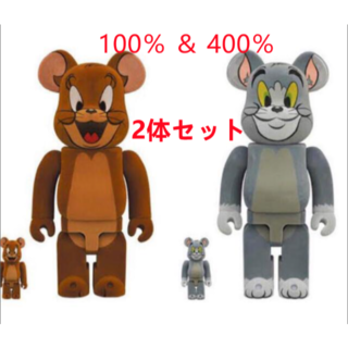 メディコムトイ(MEDICOM TOY)のBE@RBRICK フロッキー(TOM AND JERRY)100%&400%(その他)