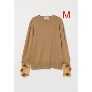 TOGA - ビーズディテールウールセーター toga × h&m トーガ コラボ ニット M