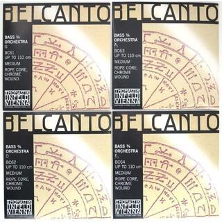 Belcanto ベルカント コントラバス弦3/4セット(その他)